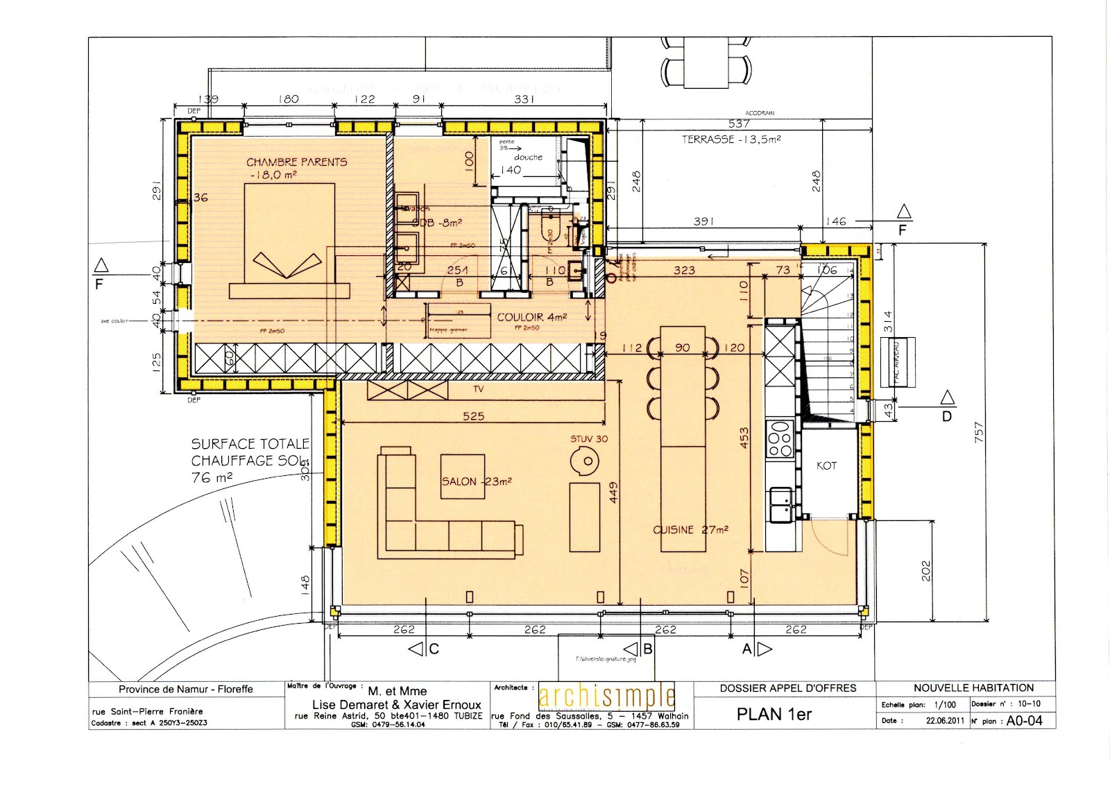 Amazing Plans Maison Gratuits Les Plans Maison Plan Maison Etage Chambres  Bureau With Plan De Maison 5 Chambres