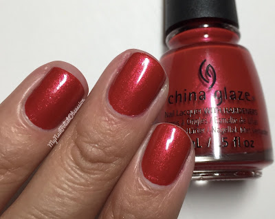 China Glaze; Fall 2016 Rebel Collection - Y'all Red-y For This