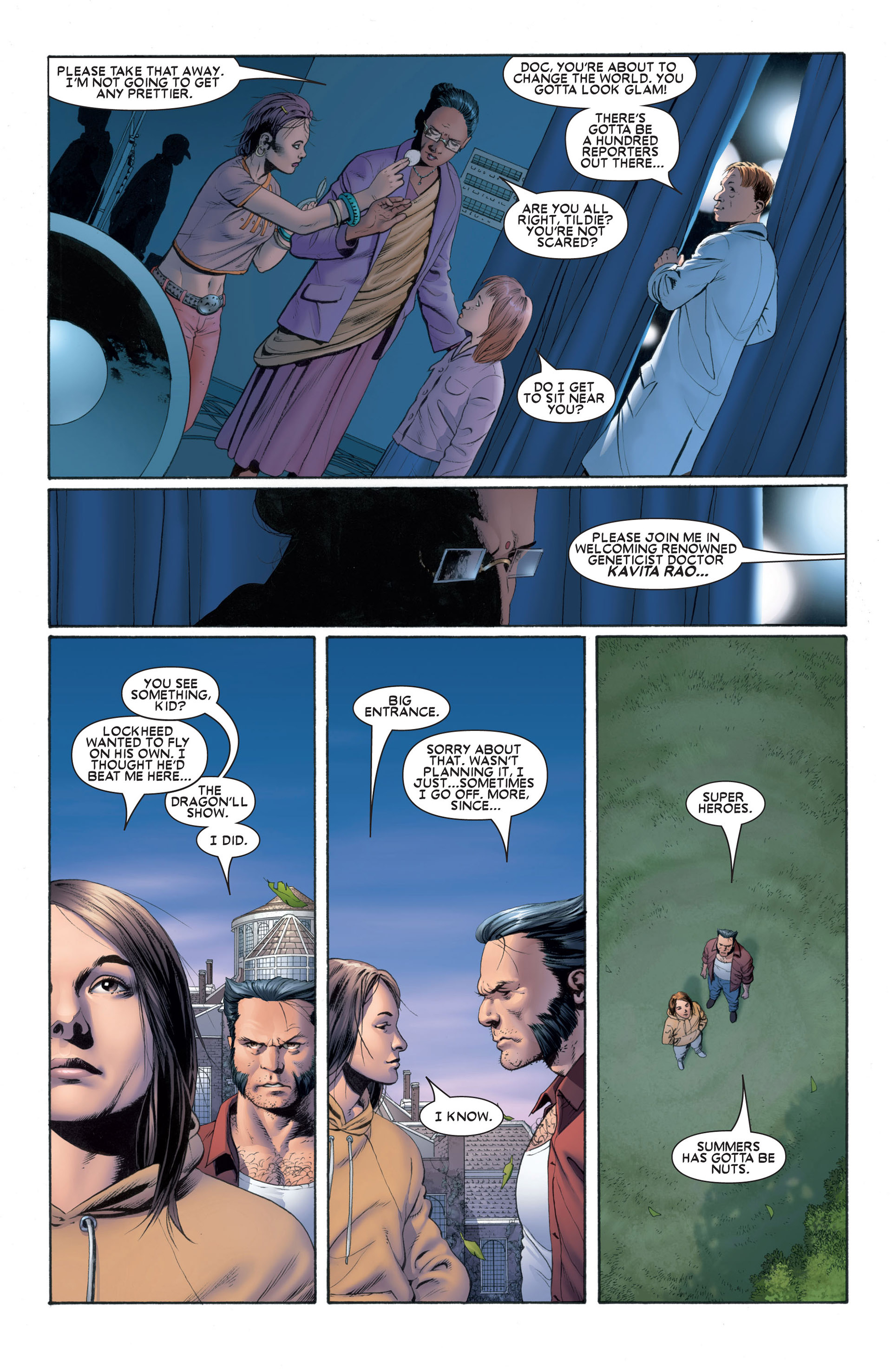 Astonishing X-Men (2004) issue 1 - Page 18