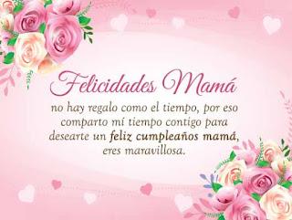 Feliz Cumpleaños Mama amor