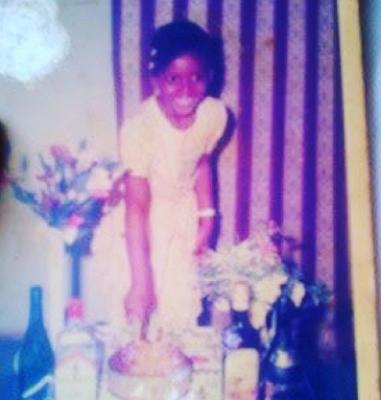 WAJE SHARES CUTE CHILDHOOD PHOTO AS SHE ADDS A YEAR