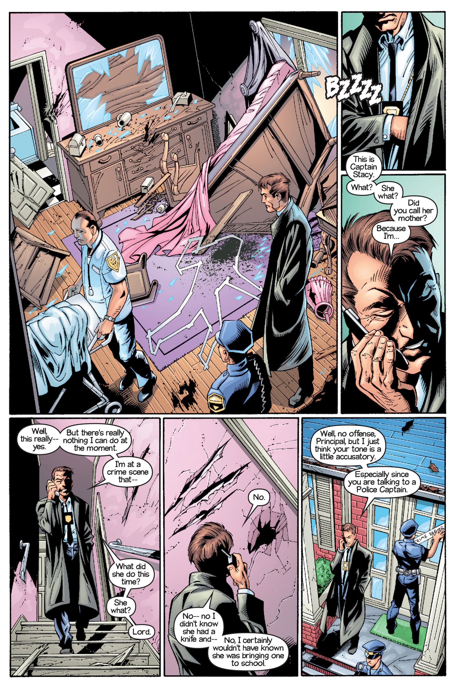 Read online Ultimate Spider-Man (2000) comic -  Issue #15 - 14