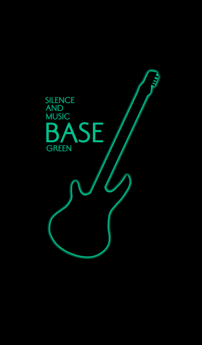 Silence and music BASE:Green