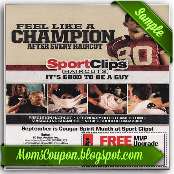 image about Sports Clips Coupon Printable titled Sporting activities clips mvp coupon - On-line Retailer Bargains