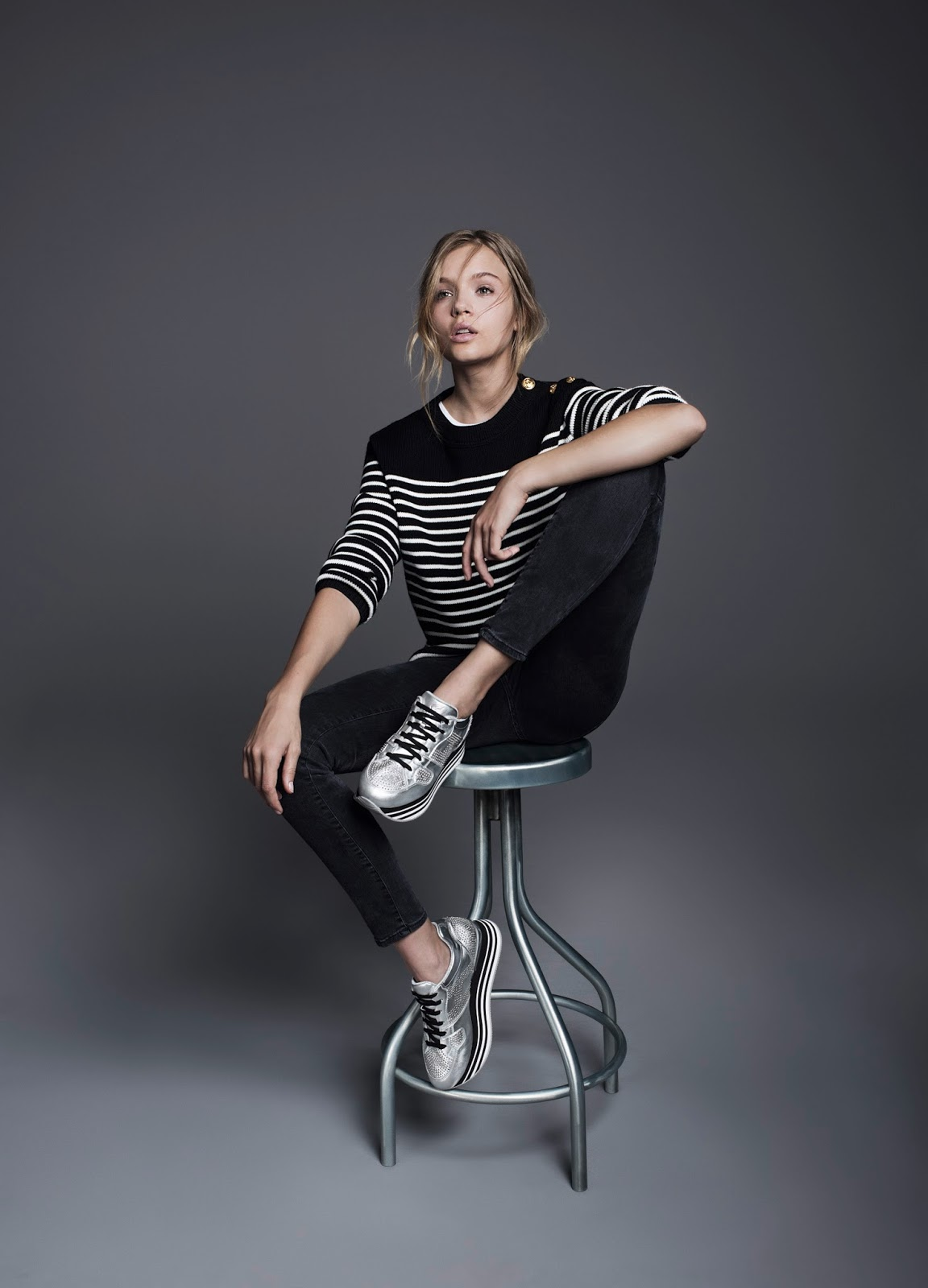 huge discount b6833 a43e6 Fashion Mode by Enrica Sciarretta: Sneakers donna Hogan ...