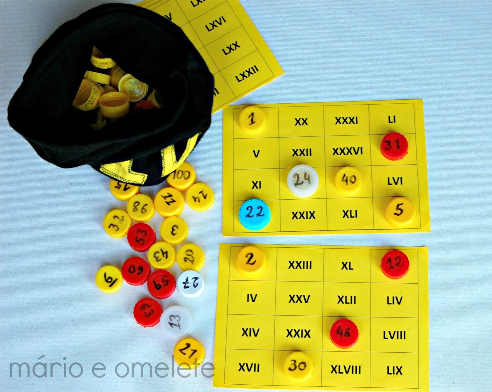 Bingo de Números Romanos