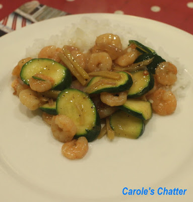 Carole's Chatter: Shrimp & Zucchini Stir Fry