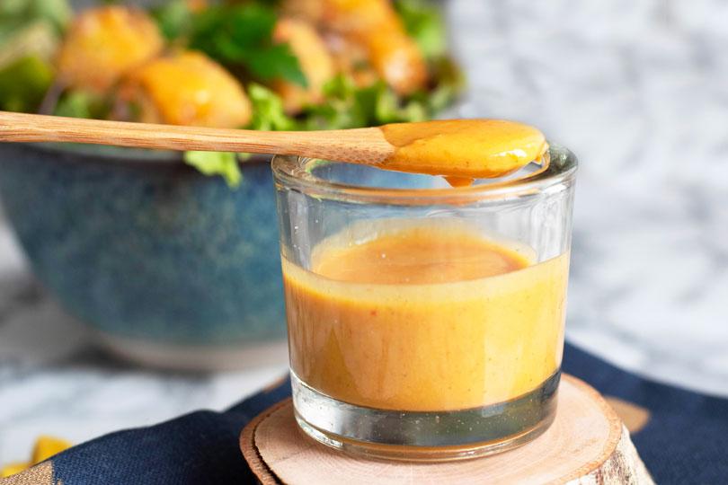 recette Sauce curry sésame