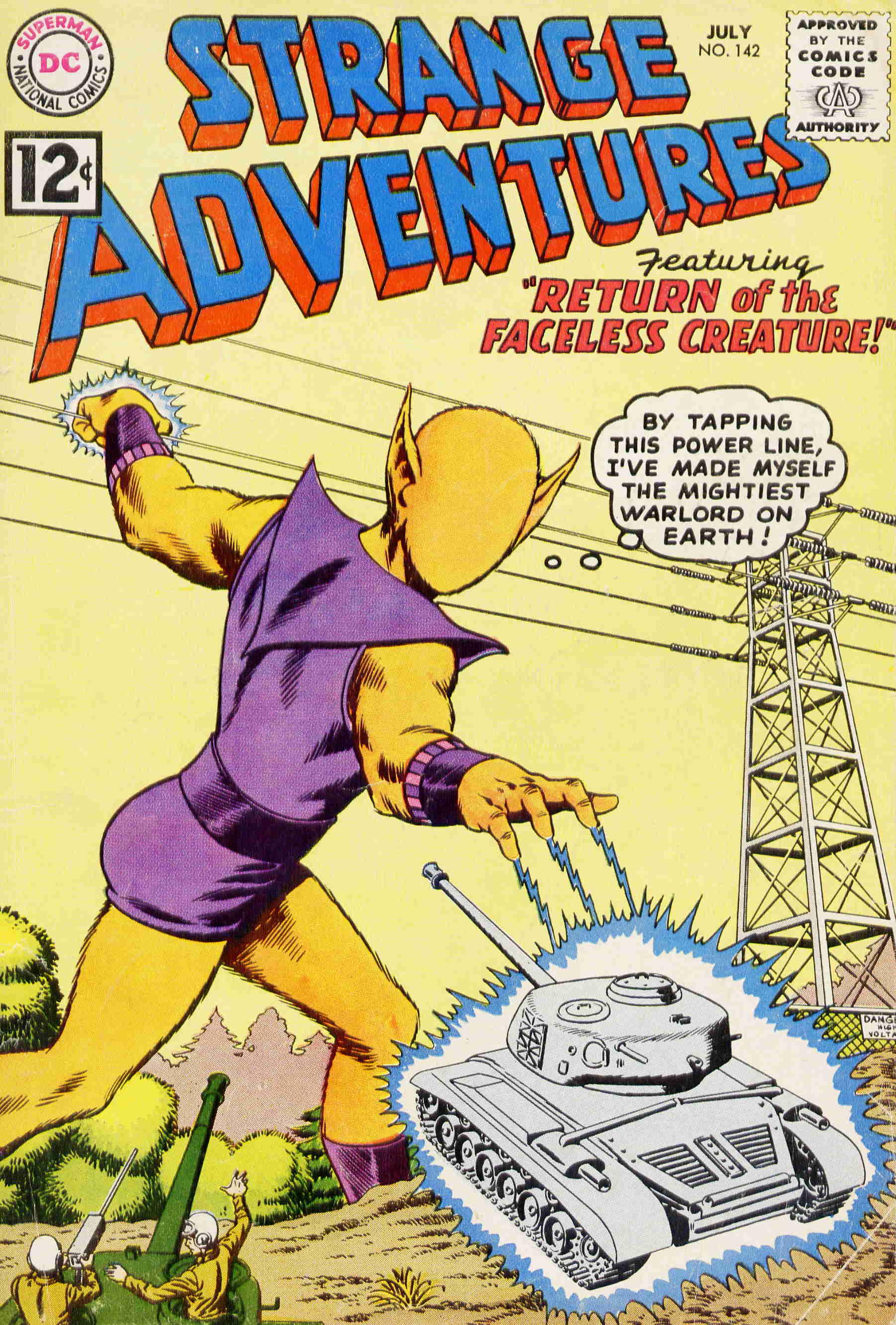 Strange Adventures (1950) issue 142 - Page 1