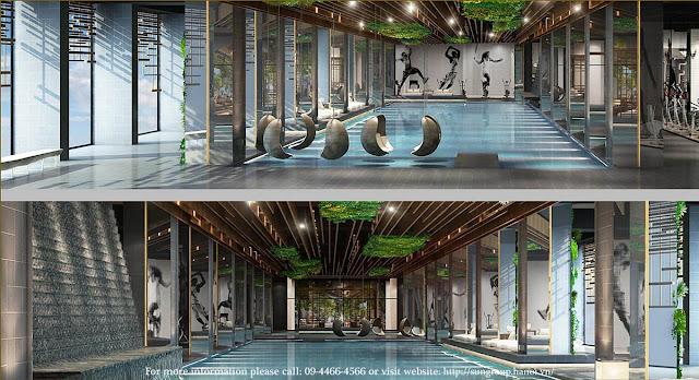 Bể bơi 4 mùa tiêu chuẩn Olympic tại Sun Grand City