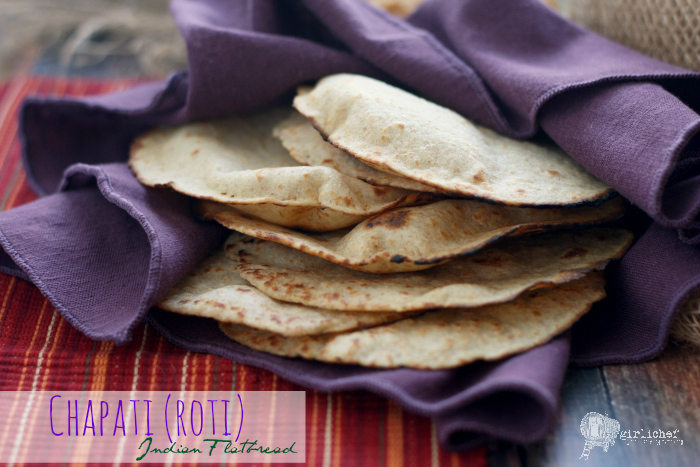 Chapati, aka Roti (Indian Flatbread)