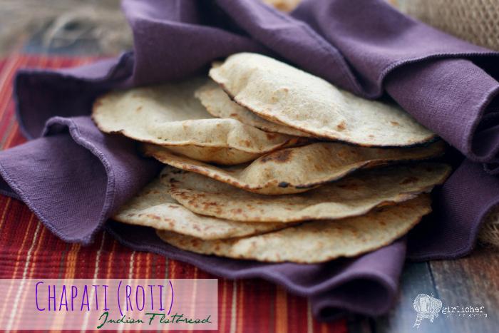 Chapati, aka Roti (Indian Flatbread)