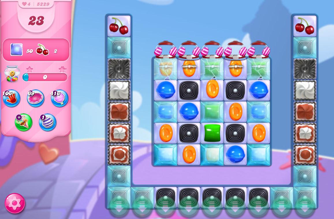 Candy Crush Saga level 5229