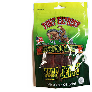 pony express beef jerky