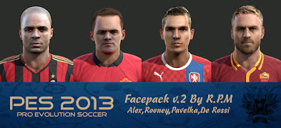 Pes 2013 Facepack v.2 By R.P.M