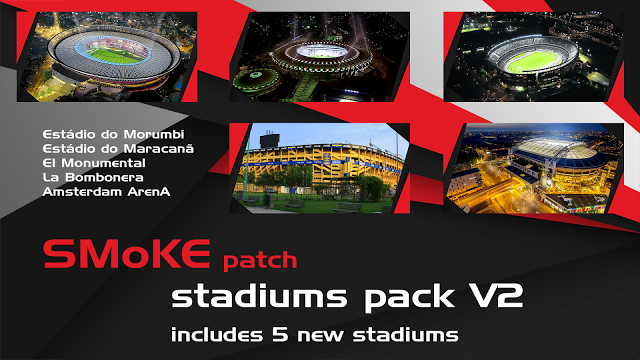 Smoke Patch Stadiums Pack V2