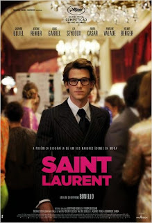 "Poster do filme ""Saint Laurent"""