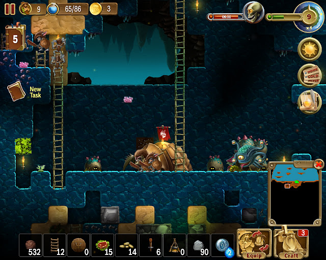 Cave Goblins | Craft the World Screenshot
