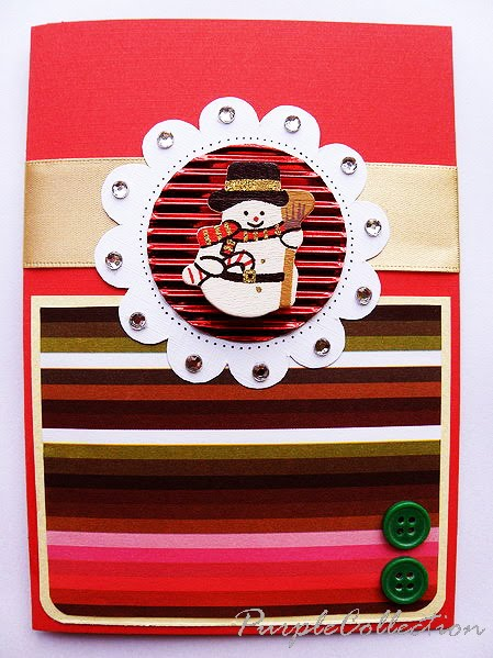 The Snowman Card, Christmas