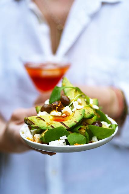 Salade d'avocat Américano recette barbecue