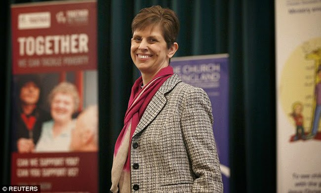Meet the First Ever Church of England's Female Bishop named Rev Libby Lane