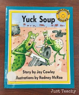 Yuck Soup, www.JustTeachy.blogspot.com