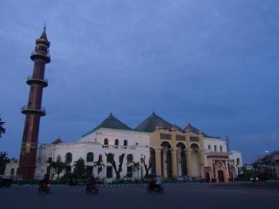 masjid agung palembang desember 2017