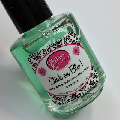 glisten and glow base coat review'