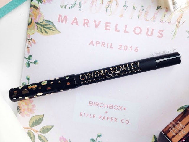 April Birchbox Cynthia Rowley Beauty Eyeliner in Black