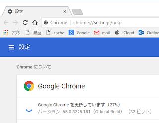 Chrome65とか66はタブの背景色が白色