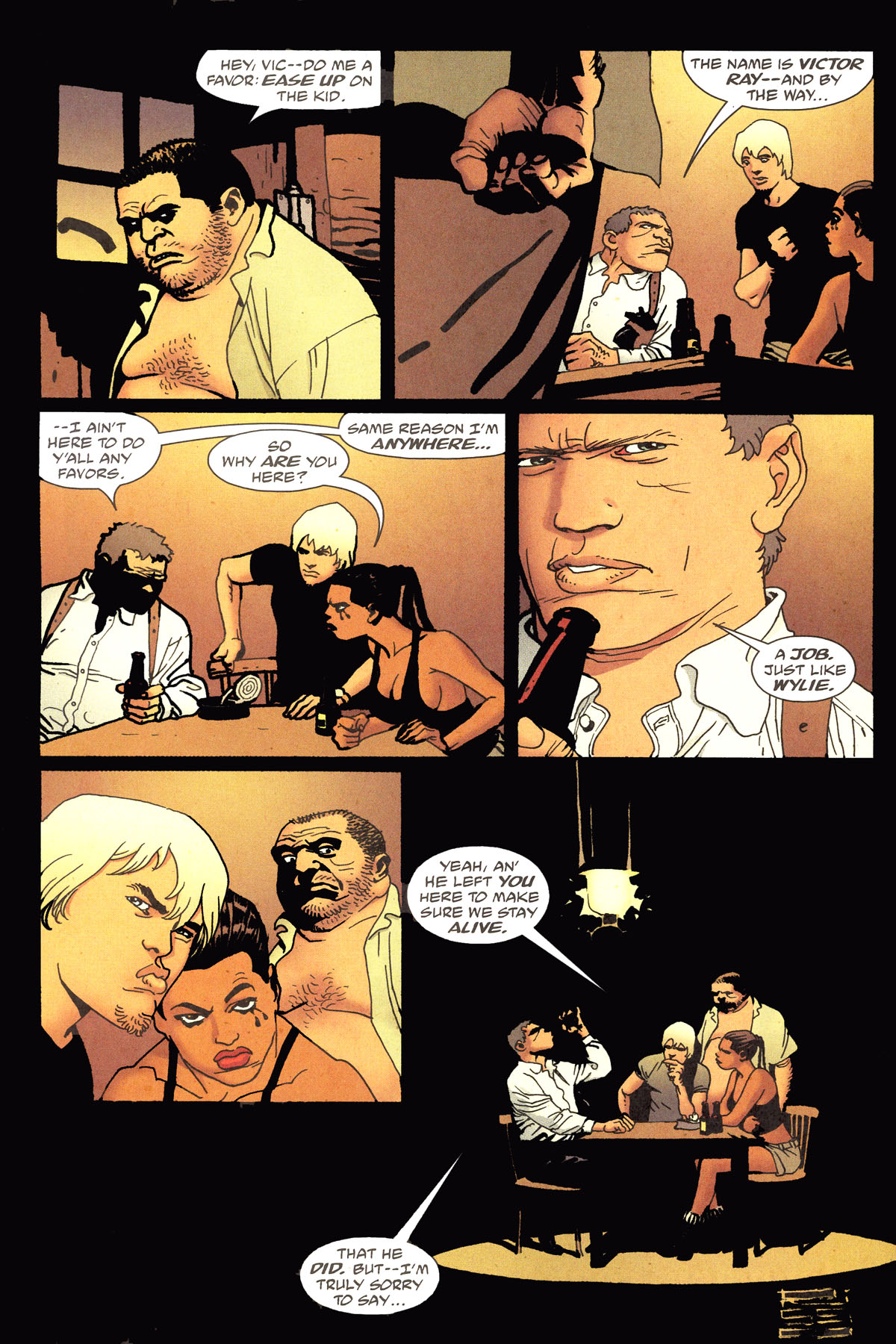 Read online 100 Bullets comic -  Issue #79 - 7