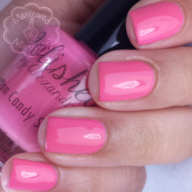 Polished By Alexandra - Cotton Candy Sunsets