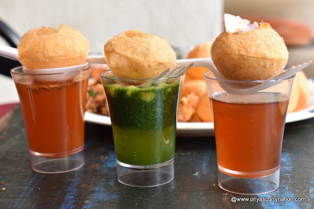 best places to eat Golgappas in Delhi, Golgappa, pani puri