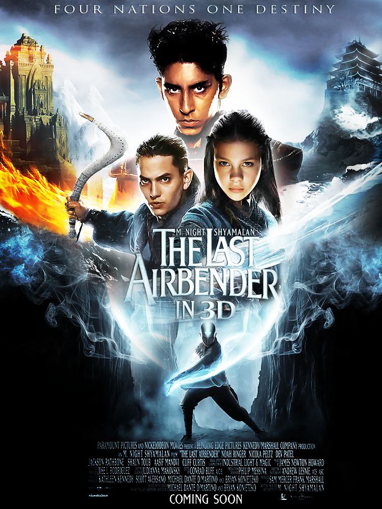The Last Airbender 2010 Dual Audio Hindi 350MB BluRay 480p x264