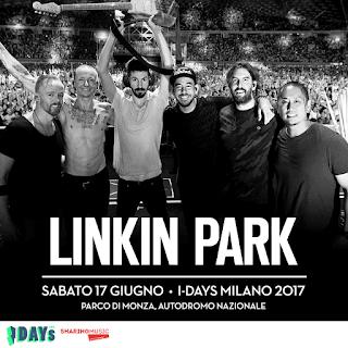 LINKIN PARK – I-DAYS MILANO FESTIVAL ITALY 2017