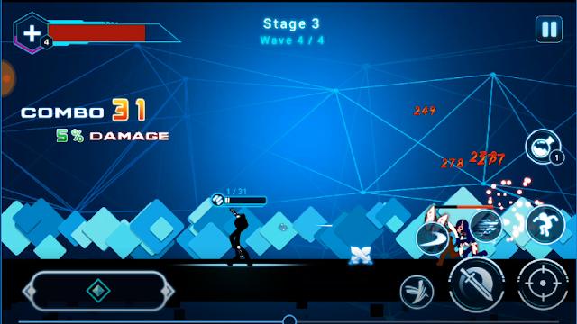 لعبة Stickman Ghost 2: Star Wars 6.4 Apk Mod