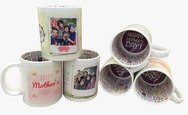 Hadiah Sempena Hari Ibu, Mother's Day Mug