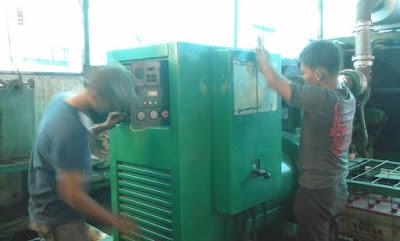 melayani service maintenance genset