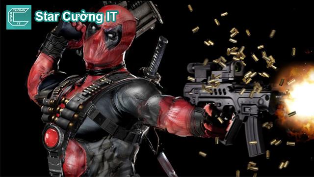 Hình nền Deadpool Full HD (1920×1080) cho máy tính đẹp nhất