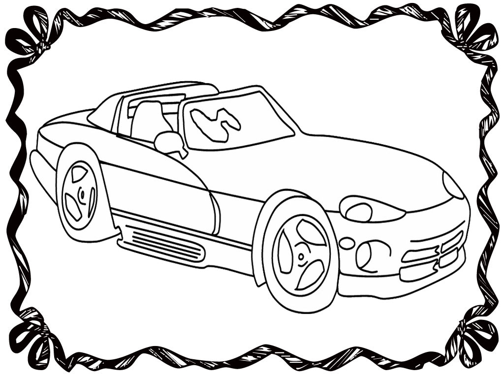 Cool Race Car Pages Coloring Pages