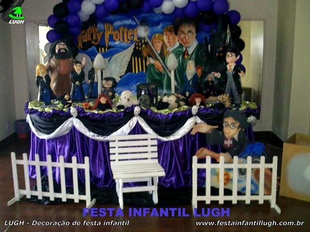 Decoração tradicional Harry Potter luxo para festa de aniversário infantil