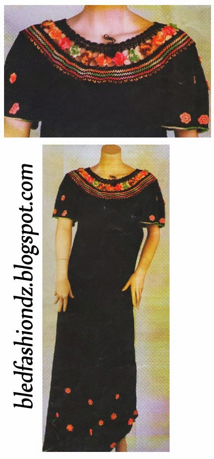 La mode alg rienne robes de maison for Decoration kabyle