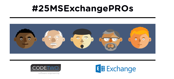 25 (+1) Exchange Server experts to follow