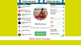 Wellcome Groups and other groups links