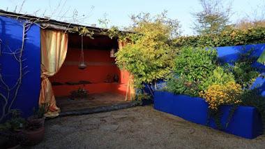 Jardines Kerfouler junto al Valle del Trieux en Bretaña