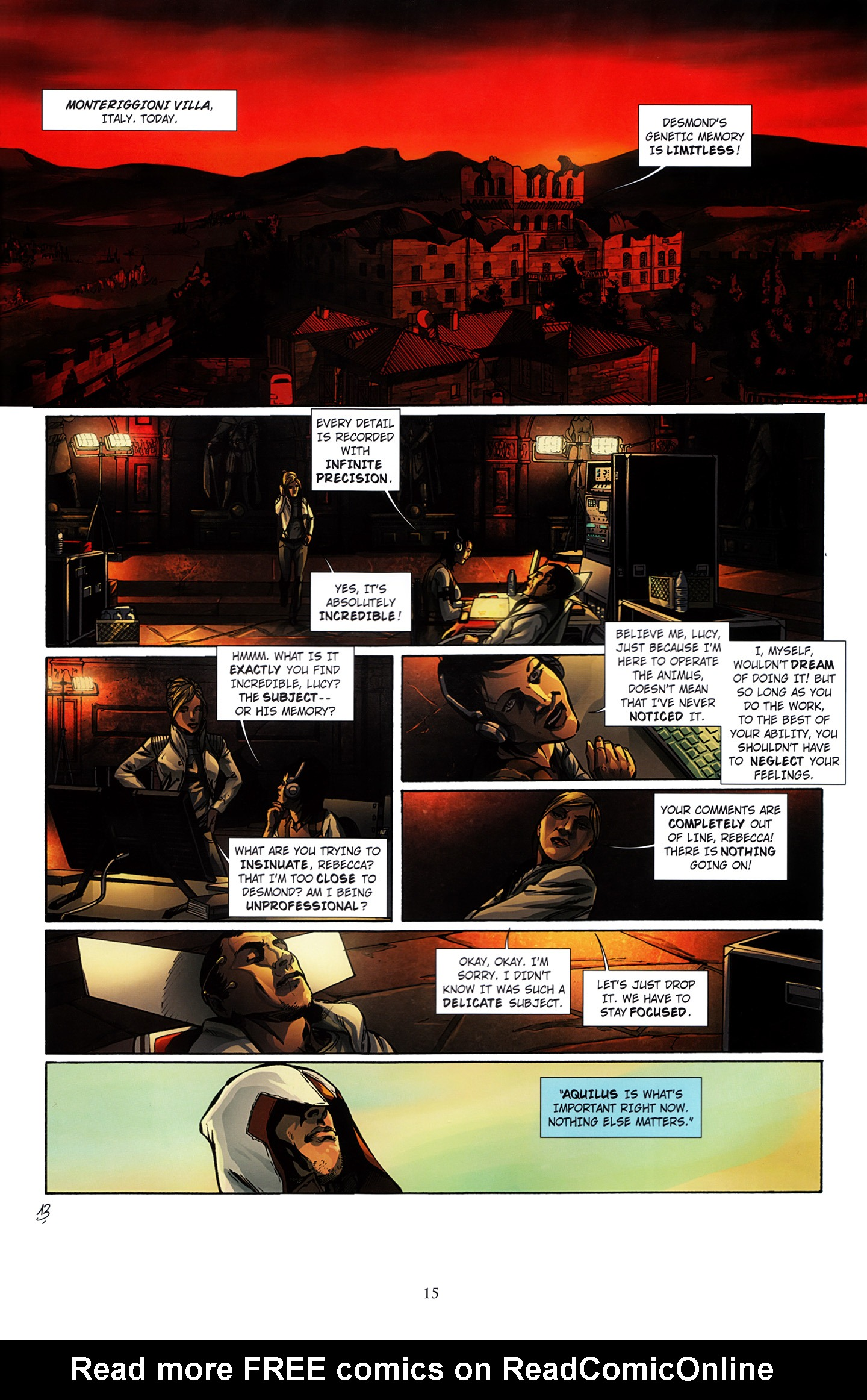 Read online Assassin's Creed (2012) comic -  Issue #3 - 19