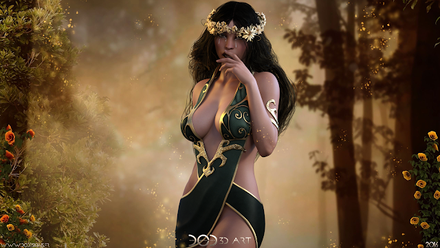 3D Art, 3 Dimensional Art, Render, Rendering, Artwork, Fan Art, Poster, Daz Studio