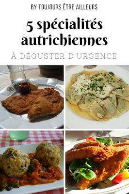 Cinq spécialités autrichiennes à goûter d'urgence : Schnitzel, Knödel, Kürbis... #Austria #food