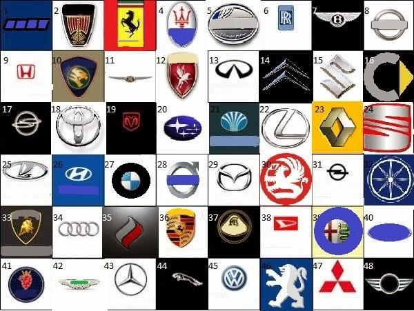 Famous Car Company Logos | Cars Show Logos