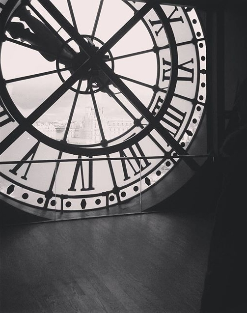 Clock Musée d'Orsay Orsay Museum